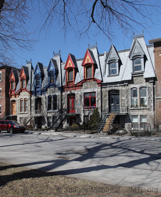 St Louis Square Row Houses Montreal