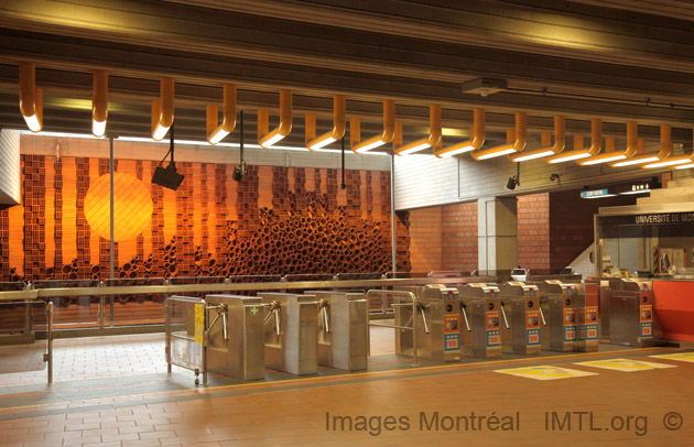 Image result for Montreal subway station gate