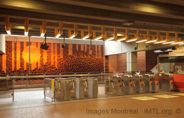 Université-de-Montréal Metro Station - Montreal