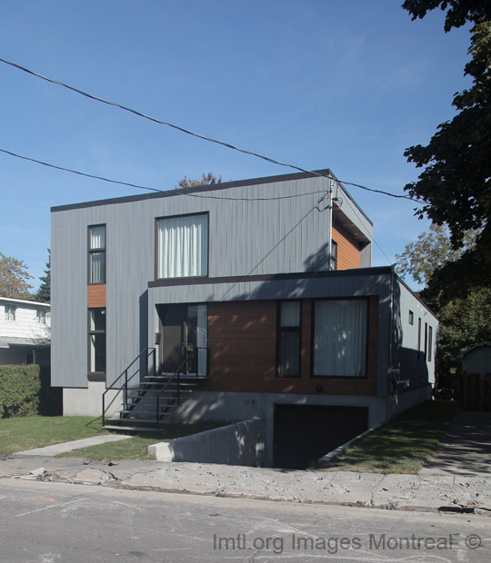 Avenue Georges Baril Contemporary Houses Ahuntsic