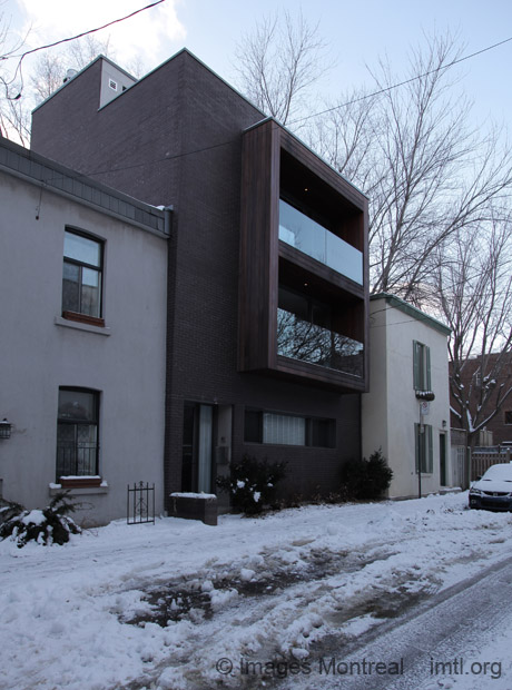 Contemporary Homes On St Christophe Montreal