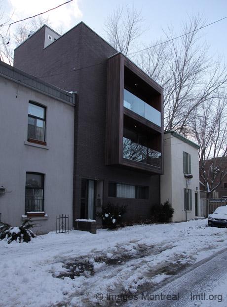 Maison contemporaine sur Saint-Christophe - Montréal