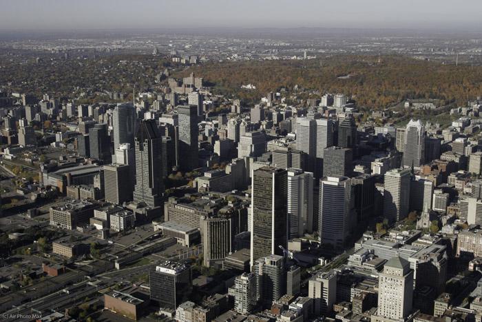 Vue Du Centre Ville De Montreal