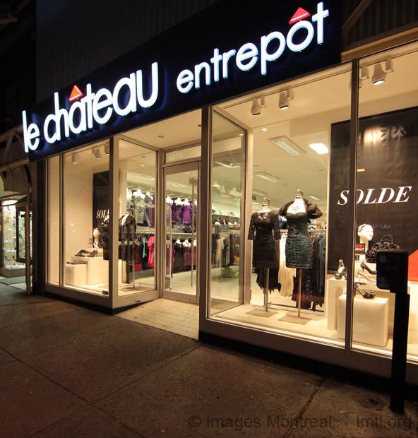 Le ch teau entrep t 6856 rue saint hubert for Entrepot de meuble a montreal