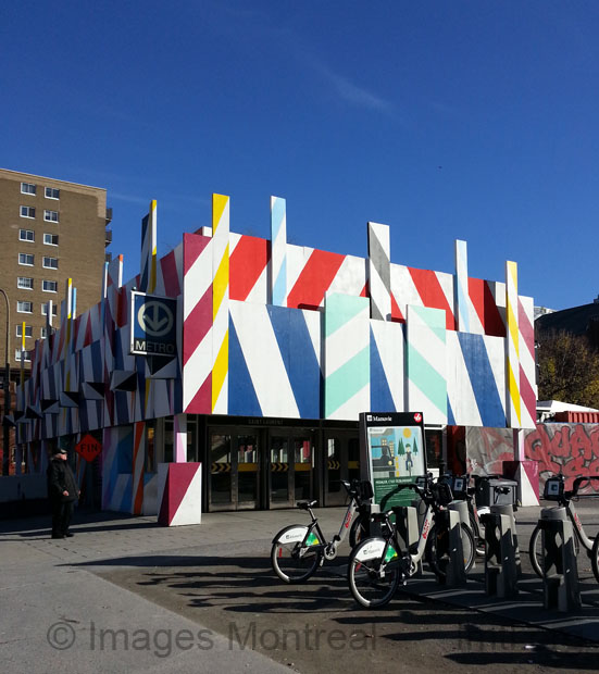 Maser - Station Saint-Laurent - Festival Mural 2016