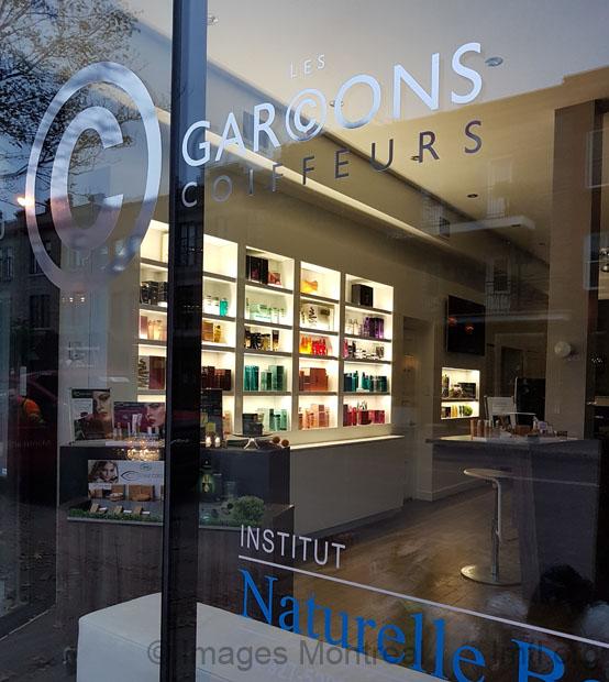 Les gar ons coiffeurs 5272 boulevard saint laurent montr al - Salon coiffure rue st laurent ...