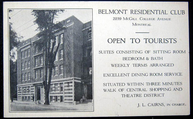 Belmont Residential Club