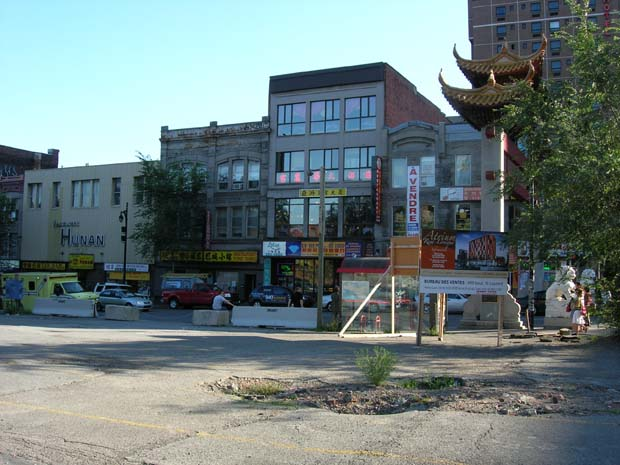 Vacant Land in China Town