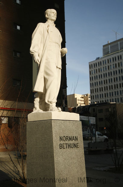 Monument Norman Bethune