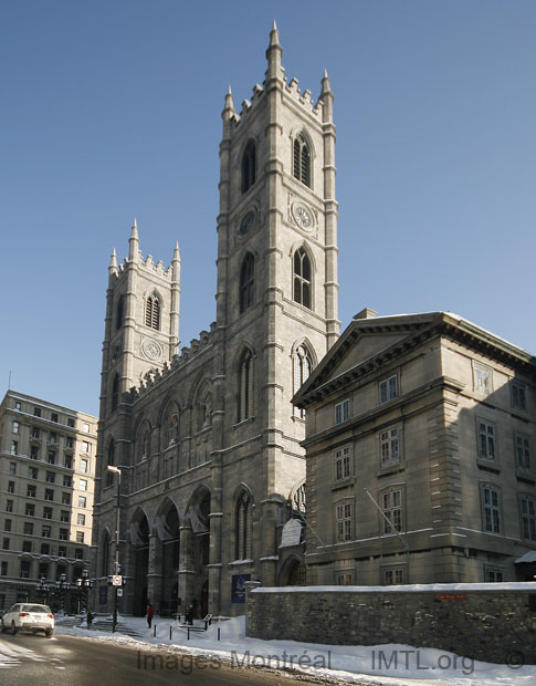 The Basilica of Notre-Dame de Montreal