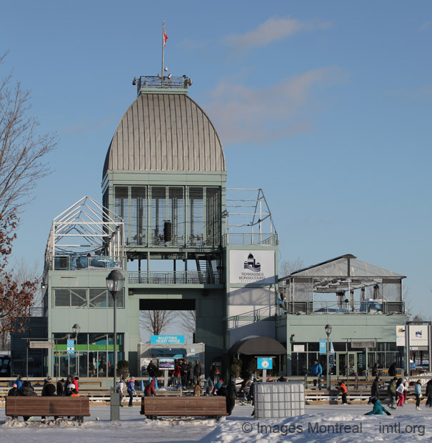 Pavillon du bassin Bonsecours