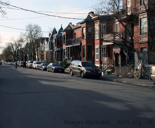 Rue Jeanne Mance Mile-end