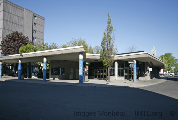 Station de m�tro Laurier